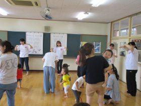 保育実技特講Ⅱ「ふわふわスイカで遊ぼう」