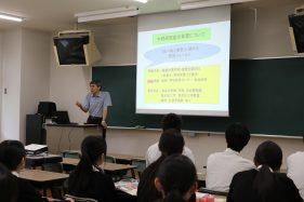 明桜館高等学校 来訪