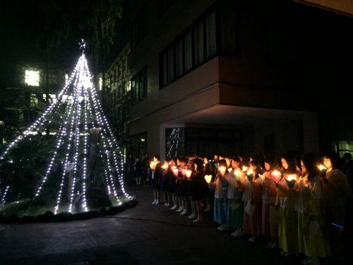 クリスマス点灯式を行いました