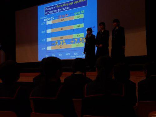 「第4回鹿児島県中高生英語プレゼンテーションコンテスト」が開催されました