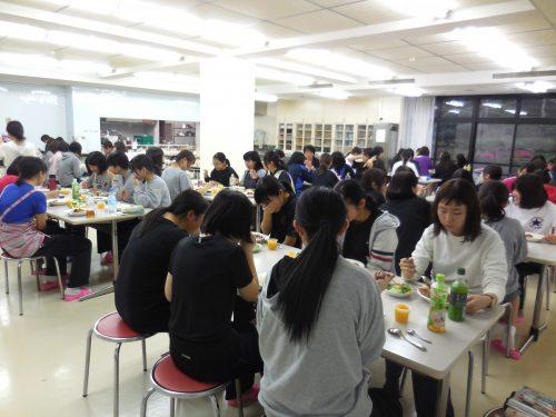 食物栄養専攻1年生オリエンテーションキャンプ