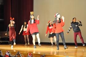 留学生によるダンス