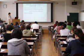 看護学科公開講座「看護研究セミナー」(第1回目)