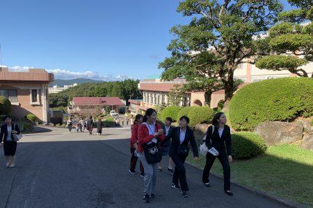 長崎純心大学大学祭を視察