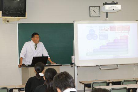 明桜館高校2年生 来訪