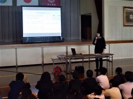 こども大学~薩摩川内市立里小学校での講座