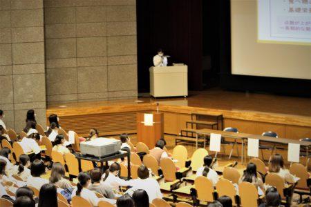 卒業生による管理栄養士国家試験受験体験発表会