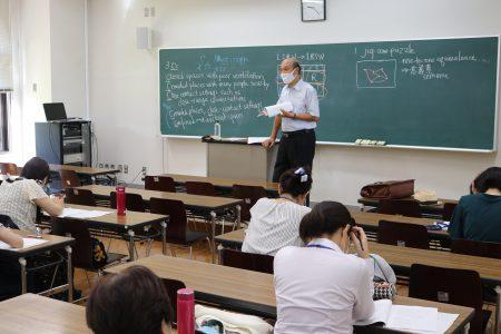 中学校英語授業力アップ講座を実施