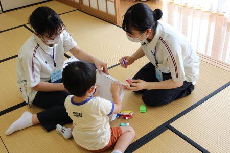 【看護学科】1年生の「発達援助実践」