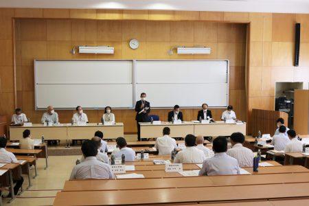 「令和3年度 第1回 地域連携教育プロジェクト運営委員会」を開催