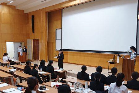 健康栄養学科「卒業研究発表会」