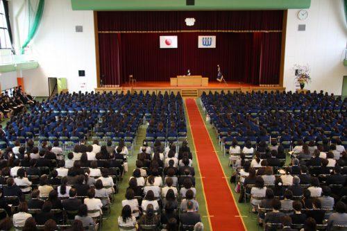鹿児島純心女子短期大学MENU「平成30年度入学式」を挙行しました
