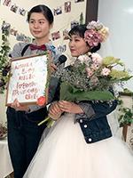 模擬結婚式
