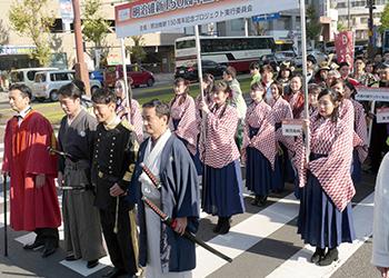 明治維新150周年記念パレード