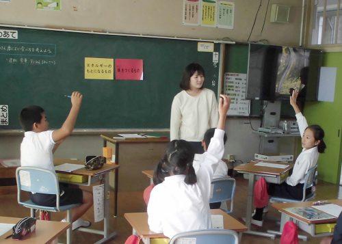 [勤務先] 南さつま市立加世田小学校(栄養教諭)