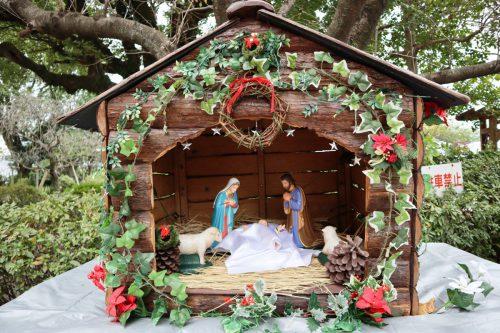 クリスマスに向けて準備が始まりました