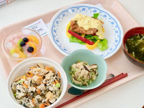 食物栄養専攻2年生による6月の「給食管理実習」メニュー