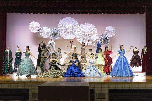 デザイン表現コース「第43回純短祭(学内発表会)」ファッションショー