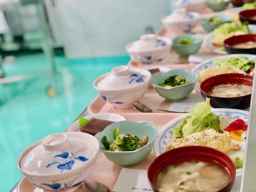 食物栄養専攻2年生による7月の「給食管理実習」メニュー